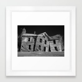 Home Is Where the Haunt Is Framed Art Print