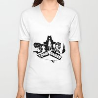 tomb raider V-neck T-shirts featuring Tomb Raider Reborn by Christophajay