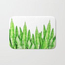Sansevieria trifasciata wall Bath Mat