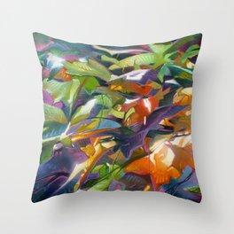 Seasonal Fling Throw Pillow