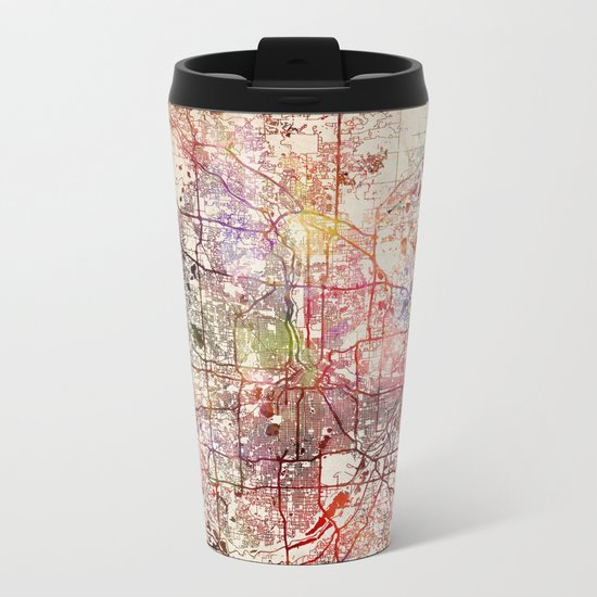 Minneapolis Metal Travel Mug