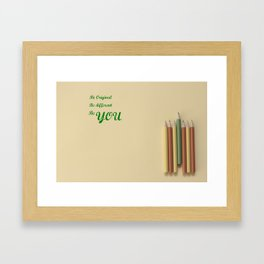 Originality Framed Art Print