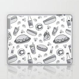 Skyline Chili Pattern Gray Laptop & iPad Skin