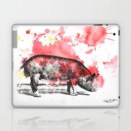 Pig Painting Laptop & iPad Skin