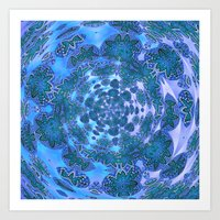 Lily Swarm Art Print