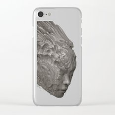 Stone Angel Clear iPhone Case