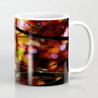 bokeh Mugs featuring Bokeh by KitKatDesigns