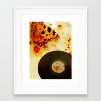 moth Framed Art Prints featuring moth by Markus Breitbach