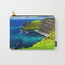 Cliffs of Moher Vivid Carry-All Pouch