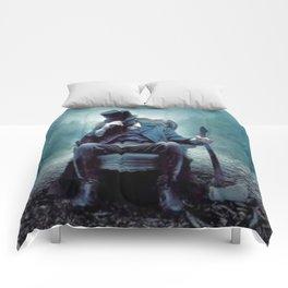 In to the dark Comforters