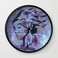 dublin Wall Clocks featuring Dublin Girl by Always Wright