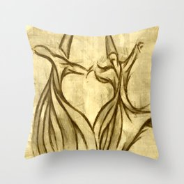 Studying The Sema Movement Throw Pillow