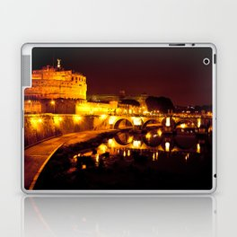 Castel sant'angelo Roma Laptop & iPad Skin