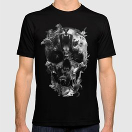 Kingdom Skull B&W T-shirt
