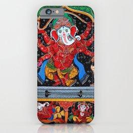 Hindu Ganesha 4 iPhone Case