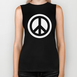 PEACE NAZI Biker Tank