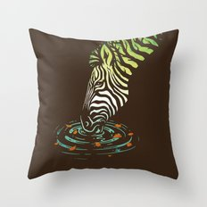 Autumn Breeze Throw Pillow