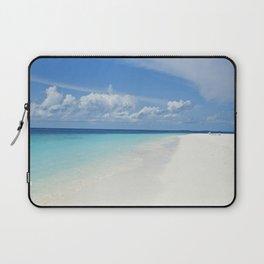The Maldives' Blue Laptop Sleeve