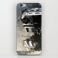 sticker iPhone & iPod Skins featuring Sticker City by Shy Photog