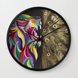 ASLAN - Breath of Gold Wall Clock