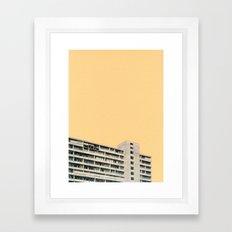 Hot in the City Framed Art Print