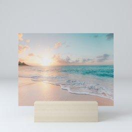 Beautiful Ocean Sunset Mini Art Print