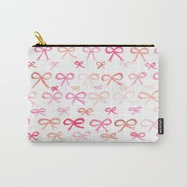 #96. SARA (Bows) Carry-All Pouch