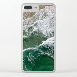 Riding high amongst the waves II Clear iPhone Case