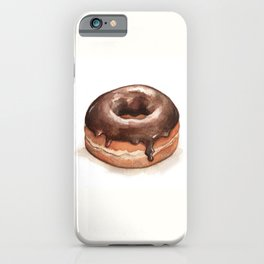 Chocolate Glazed Donut iPhone Case