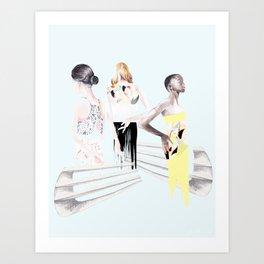 Stella Girls Art Print