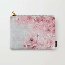 Meshed Up Sakura Blossoms Carry-All Pouch