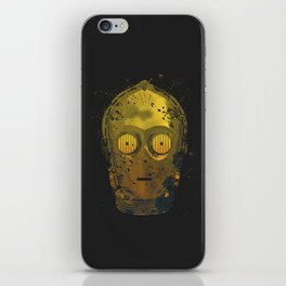 C3PO Splash iPhone Skin