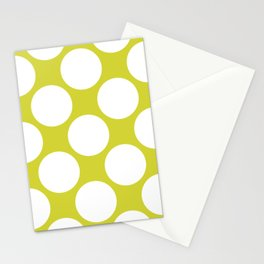 Polka Dots Green Stationery Cards