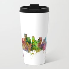 Boston Massachusetts Skyline Travel Mug