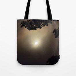 Dark Halloween Dawn Tote Bag