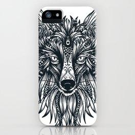 Fox Wolf Tribal Head iPhone Case