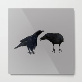 black birds incognito Metal Print