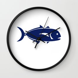 Crevalle Jack Retro Wall Clock