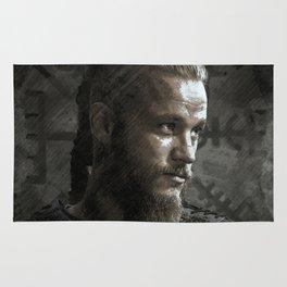 Ragnar Lodbrok - Vikings Rug