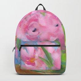 Teacup Pinks Backpack
