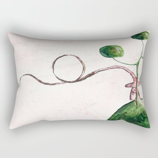 The tale's witch Rectangular Pillow