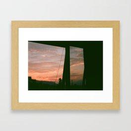 from my window Framed Art Print