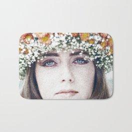Face flower Bath Mat