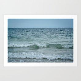 Atlantic Thirds Art Print