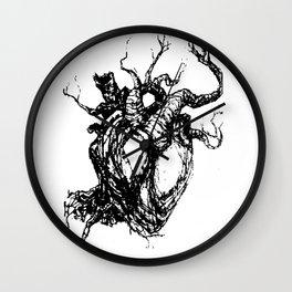 HeartTree Wall Clock