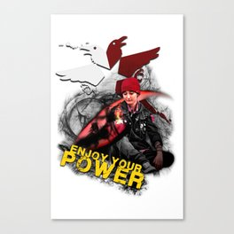"InFamous Second Son - ""ENJOY YOUR POWER"" Canvas Print"