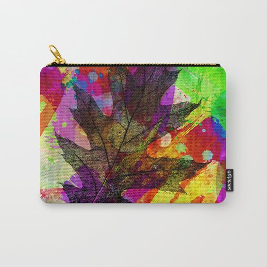 Splash leaf Carry-All Pouch