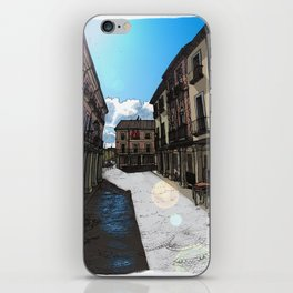 Calle Mayor (color) iPhone Skin