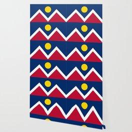 Denver, Colorado city flag - Authentic High Quality Wallpaper
