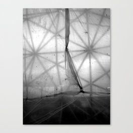 Tarp and Triangles Canvas Print
